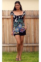 Angie top - XOXOX shorts - Donna Lawrence shoes - Charlotte Ronsontte Ruse neckl