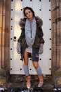 Green-river-island-coat-gray-hollister-cardigan-beige-vivienne-westwood-boot
