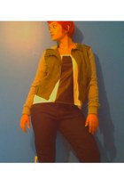 navy jeans rue21 jeans - olive green hoodie rue21 jacket - white Rue 21 blouse