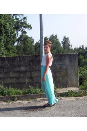 aquamarine Zara skirt
