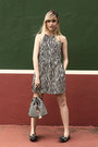 Zara-dress-sammydress-bag-knitted-cardigan-dockside-shoes-flats
