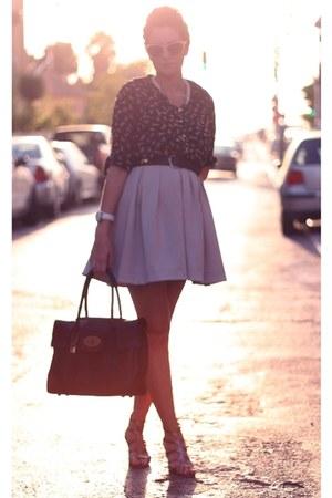 skirt H&M skirt - Zara blouse