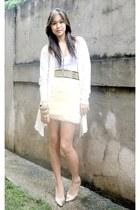 faux fur made to order skirt - stilletos BESTFINDS THRIFTSHOP shoes