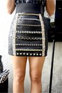 Black-bestfinds-thriftshop-skirt