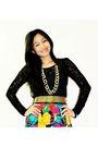 Best-finds-thriftshop-blouse-skirt-random-brand-shoes-belt