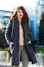 Black-suede-booties-ivanka-trump-boots-navy-tweed-peacoat-h-m-coat