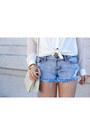 Ivory-vintage-chanel-bag-light-blue-tapestry-denim-others-follow-shorts