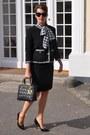 Black-sewing-diy-jacket-black-dior-bag-black-chanel-sunglasses
