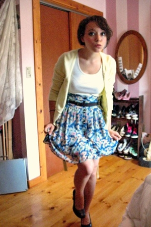 I heart ronson skirt - belt - HTnaturals shirt - Unlisted shoes