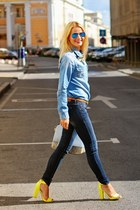 Furla bag - Ray Ban sunglasses