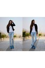 Light-blue-pull-bear-jeans