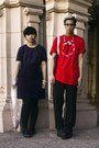Navy-h-m-shirt-red-nautica-t-shirt-black-h-m-necklace-navy-skirt