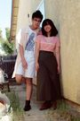 Pink-shirt-green-skirt-white-shorts-beige-cotton-on-shirt-white-cotton-o