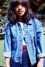 Black-forever-21-scarf-black-levis-jeans-blue-jacket-white-forever-21-shoe
