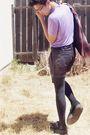 Black-tuk-shoes-black-forever-21-leggings-purple-h-m-shirt-red-forever-21-