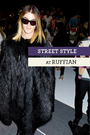 black Ruffian dress