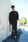 Black-hat-navy-target-tights-black-ottoman-american-apparel-sweatshirt