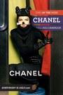 black Chanel suit