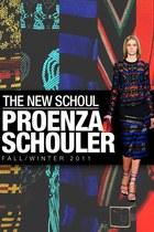 blue PROENZA SCHOULER skirt
