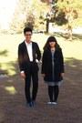 Black-shoes-white-dress-black-coat-black-jeans-black-blazer-white-shir