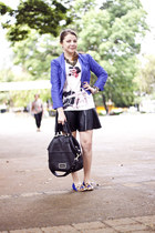 shop 126 blazer - H&M t-shirt - Laf skirt