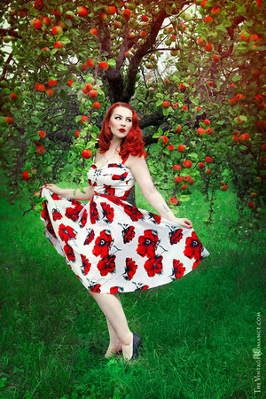 red floral Stop Staring Clothing dress
