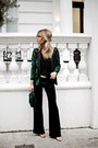 Forest-green-topshop-blazer-black-topshop-top-forest-green-zara-pants