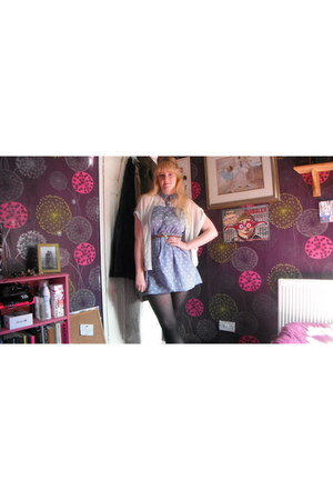 Primark dress - Topshop blouse