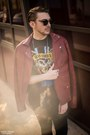 Ruby-red-zara-jacket-black-h-m-shirt-black-new-yorker-sunglasses
