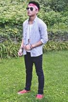 H&M shirt - asos shoes - H&M pants