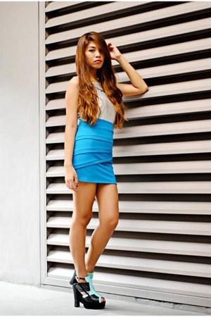 sky blue Bazaar skirt
