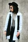 Black-lace-up-forever-21-boots-light-blue-elitefashion99-coat