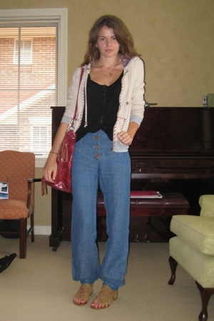 Sportsgirl jacket - Lulu & Rose top - Arabella Ramsay pants - Natasha shoes - ur