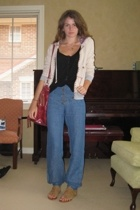 Sportsgirl jacket - Lulu & Rose top - Arabella Ramsay pants - Natasha shoes - ur