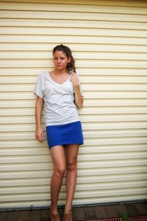 Sportsgirl t-shirt - Shackuhachi dress - Mollini shoes
