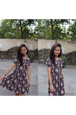hot pink forever21 Forever 21 dress