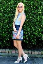 Loft skirt - ann taylor blouse