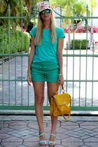 MSGM hat - Rebecca Minkoff purse - sam edelman sandals