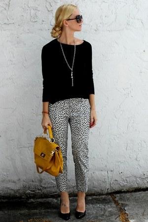 Rebecca Minkoff purse - ann taylor pants