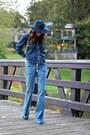 Navy-citizens-of-humanity-jeans-navy-denim-vintage-shirt