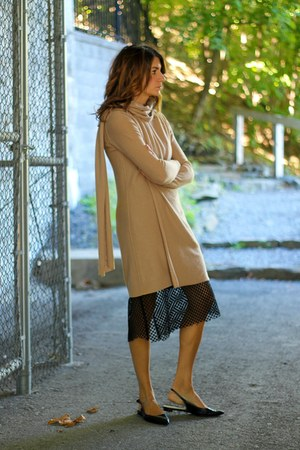 camel sweater 31 Phillip Lim dress