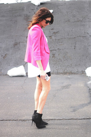 hot pink asos blazer