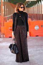 pants - black Diesel sweater