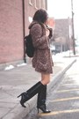 Black-manolo-blahnik-boots-vintage-sweater-cream-bb-dakota-skirt