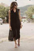 black t by alexander wang dress