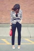 emanuel ungaro jacket - christian dior pants - white heels