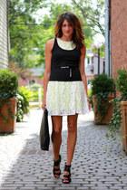 lace neon dress