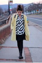 calvin klein shirt - yellow Bebe coat