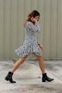 Black-zara-boots-dalmation-choies-dress
