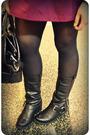 Black-kimchi-blue-blazer-black-jcrew-top-pink-theory-skirt-black-steve-mad
